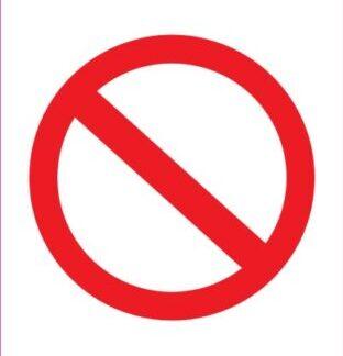 Prepovedano zadrževanje