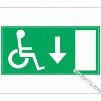 Evakuacija invalidi dol