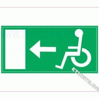 Evakuacija invalidi levo