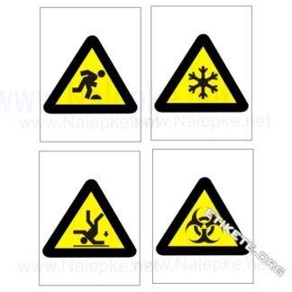 Opozorilni znaki