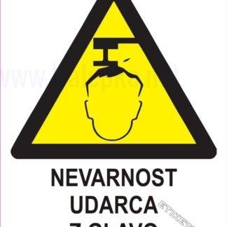 Nevarnost udarca z glavo 1