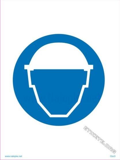 Obvezna uporaba čelade