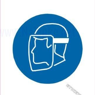 Obvezna uporaba ščitnika obraza