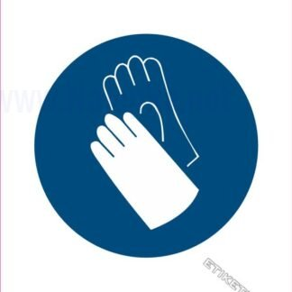 Obvezna uporaba varnostnih rokavic