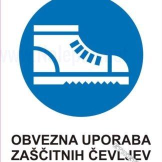 Obvezna uporaba zaščitnih čevljev 1