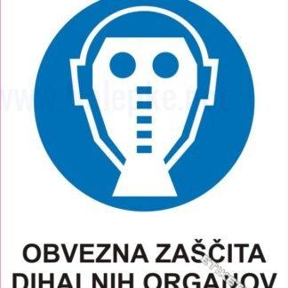 Obvezna zaščita dihalnih organov 1