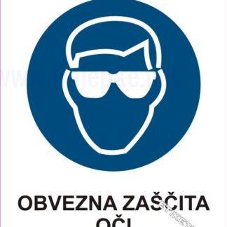 Obvezna zaščita oči 1