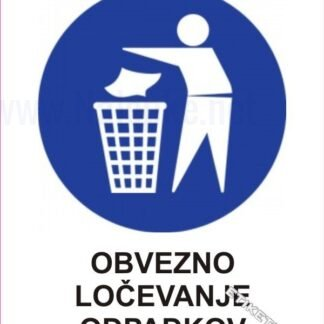 Obvezno ločevanje odpadkov 1