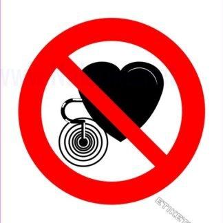 Pepovedano za ljudi s srčnim spodbujevalnikom