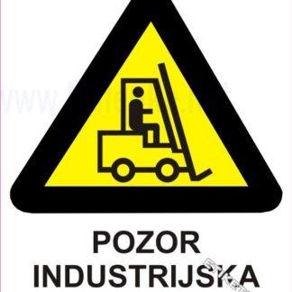 Pozor industrijska vozila 1