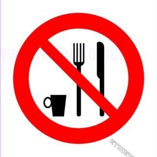 Prepovedan vnos hrane in pijače