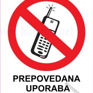 Prepovedana uporaba mobilnika 1