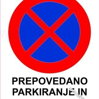 Prepovedano parkiranje in ustavljanje 1