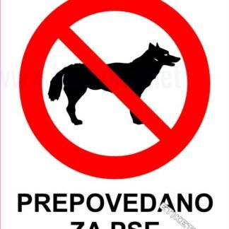 Prepovedano za pse 1