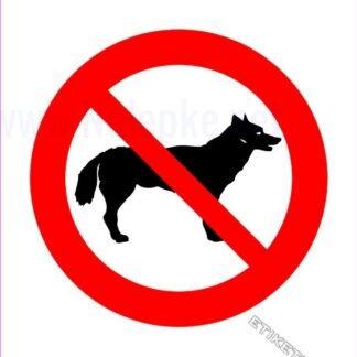 Prepovedano za pse