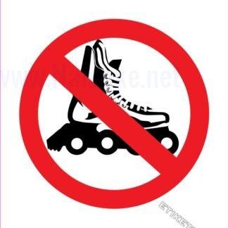 Prepovedano za rolerje