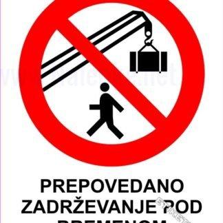 Prepovedano zadrževanje po bremenom 3