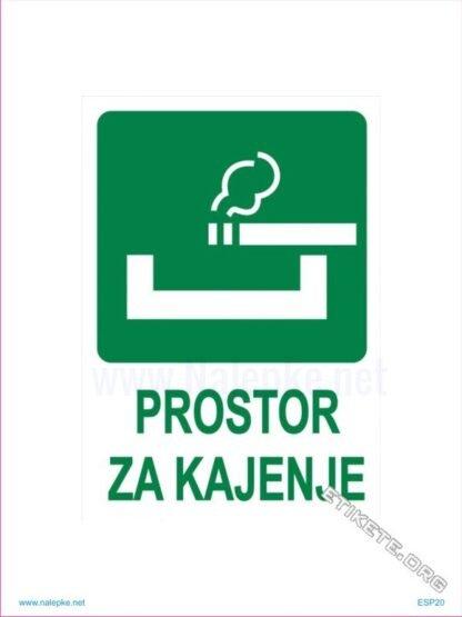 Prostor za kajenje