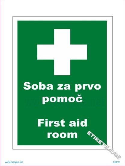Soba za prvo pomoč