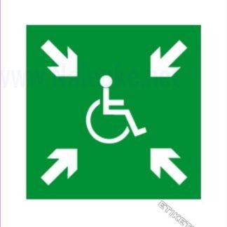 Zbirno mesto - invalidi