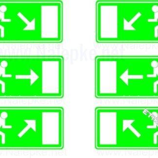 Evakuacijske poti in stopnišča