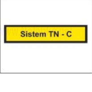 Nalepka Sistem TN C, dimenzija: 71x16mm, pola: 10 kos