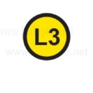 Zbiralke L3, premer 16mm, pola: 20 nalepk