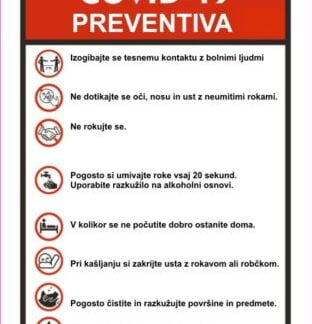 COVID 19 PREVENTIVA