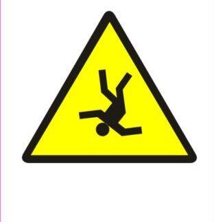 Nevarnost padca iz višine