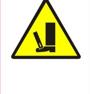 Nevarnost stiska nog