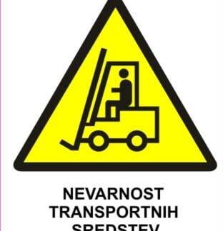 Nevarnost transportnih sredstev