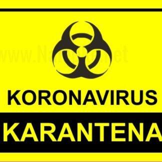 koronavirus karantena