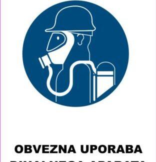 Obevzna uporaba dihalnega aparata 2