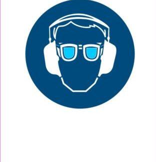 Obevzna uporaba slušnikov in očal