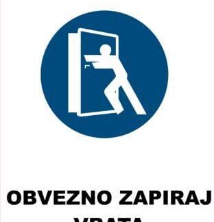 obvezno zapiraj vrata 2