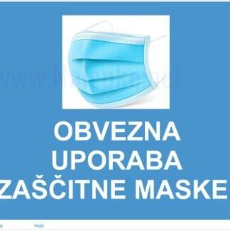 Obvezna uporaba zaščitne maske -covid-19