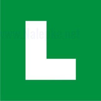 """""""L"""" Označevanje vozil pri vožnji s spremljevalcem za voznike začetnike"""