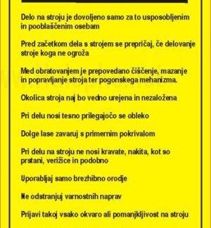 Pravila za varno delo