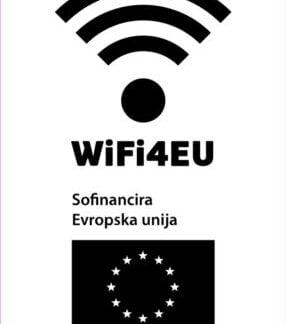 Emblem WiFi4EU - nalepka