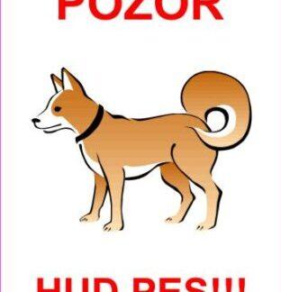 Pozor hud pes 1