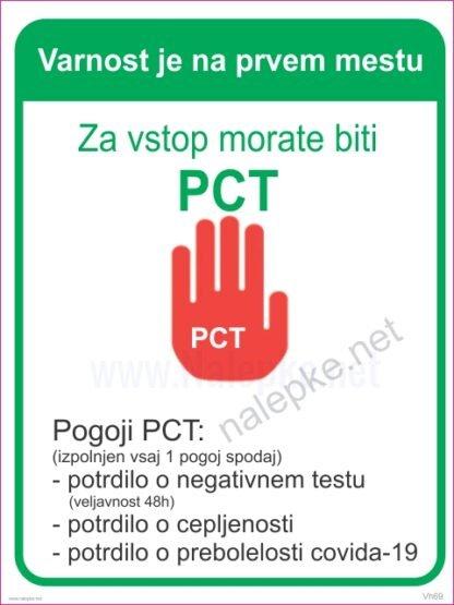 Načelo PCT pogoji